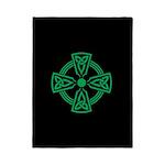Celtic Cross Twin Duvet Cover