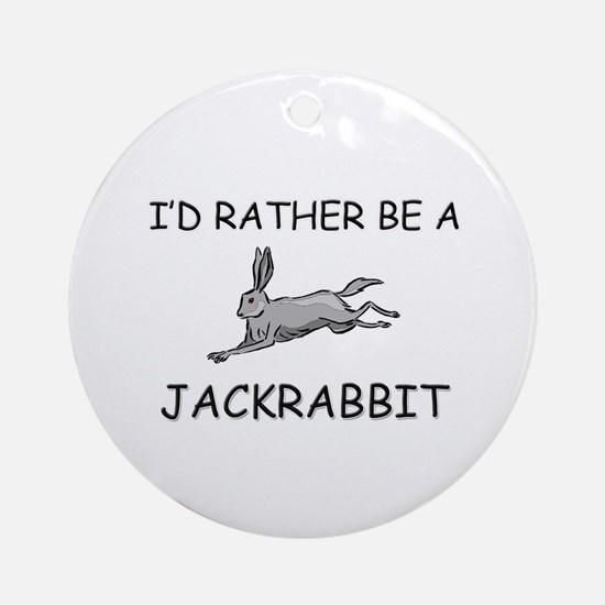I'd Rather Be An Iguana Ornament (Round)