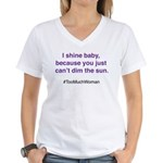 Purple Shine Can't Dim The Sun T-Shirt