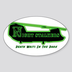 160th SOAR NightStalker's Oval Sticker