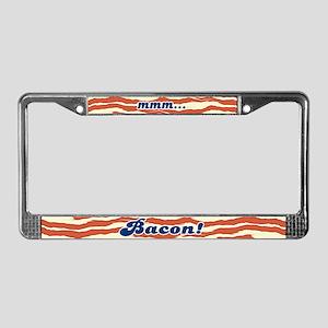 MMM Bacon License Plate Frame