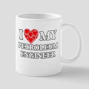 I Love my Petroleum Engineer Mugs