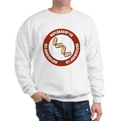 Haplogroup I1A Sweatshirt