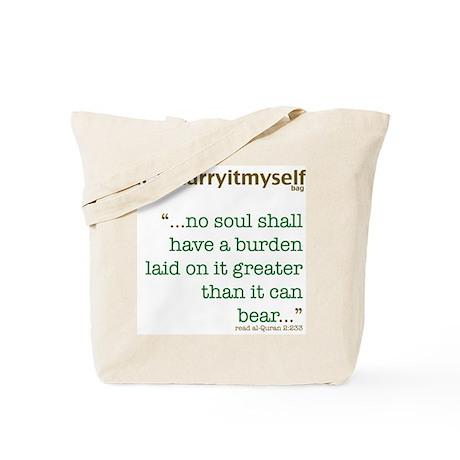 THINKING MUSLIM Quranic Quote Tote Bag