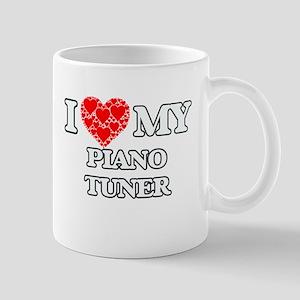 I Love my Piano Tuner Mugs