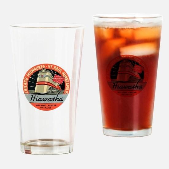 Hiawatha engine design Drinking Glass