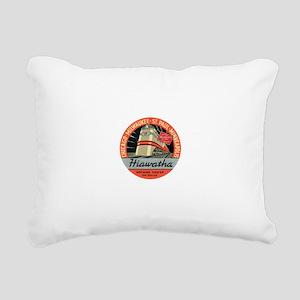 Hiawatha engine design Rectangular Canvas Pillow