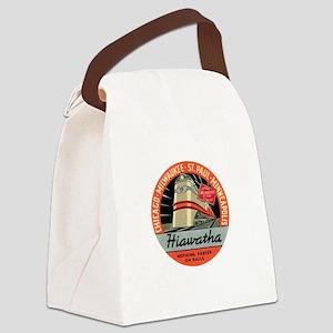 Hiawatha engine design Canvas Lunch Bag