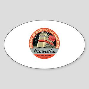 Hiawatha engine design Sticker