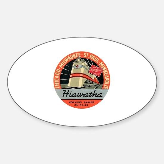 Hiawatha engine design Decal