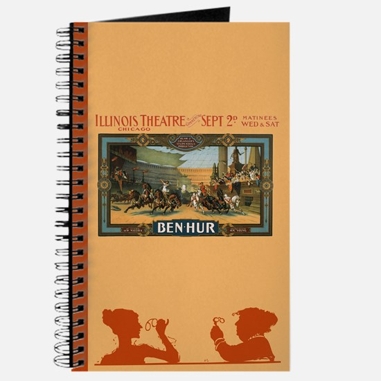 Vintage Ben Hur Horse Race Journal / Notebook