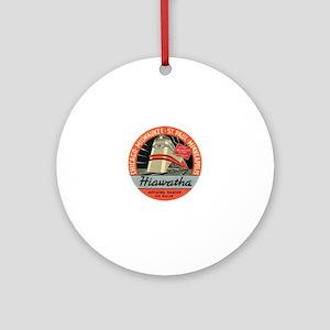 Hiawatha engine design Round Ornament
