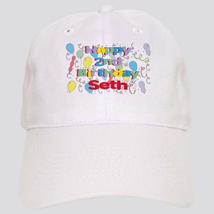 Seths 2nd Birthday Cap