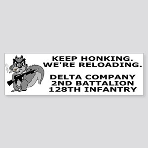 2-128th Infantry <BR>D Company Bumpersticker 4