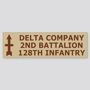 2-128th Infantry <BR>D Company Bumpersticker 5