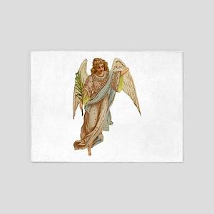 Angel illustration 4 5'x7'Area Rug