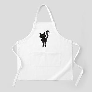 Black Cat BBQ Apron