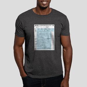 1040-DOG Income Tax Dark T-Shirt