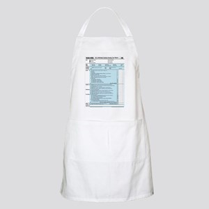 1040-DOG Income Tax BBQ Apron