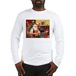Santa's Dachshund (LH-S) Long Sleeve T-Shirt