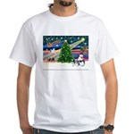 XmasMagic/Shih Tzu (11) White T-Shirt