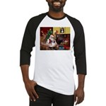 Santa's Shih Tzu (#1) Baseball Jersey