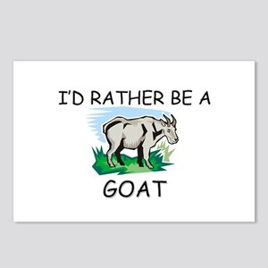 I'd Rather Be A Goat Postcards (Package of 8)