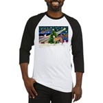 XmasMagic/Greyhound (rd) Baseball Jersey