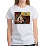 Santa's Havanese Puppy Women's T-Shirt