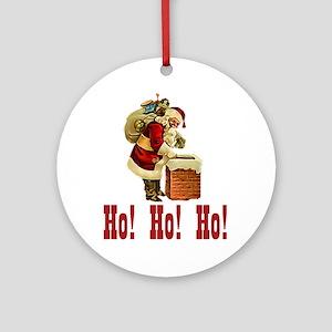 Ho! Ho! Ho! Christmas Keepsake (Round)