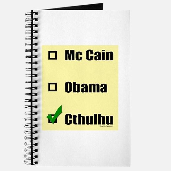 McCain, Obama, Cthulhu Journal