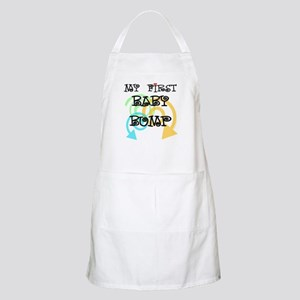 Cute first baby bump pregnancy BBQ Apron