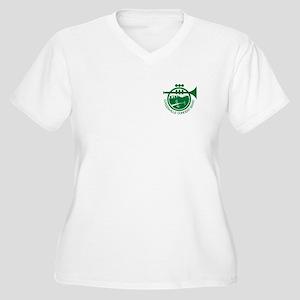GCB Women's Plus Size V-Neck T-Shirt