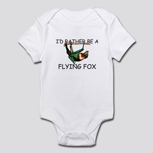 I'd Rather Be A Flying Fox Infant Bodysuit