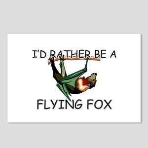 I'd Rather Be A Flying Fox Postcards (Package of 8