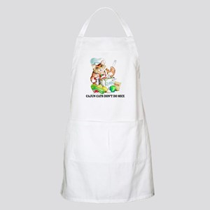 Cajun Cats Don't Do Mice BBQ Apron