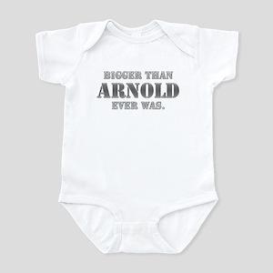 BIGGER THAN ARNOLD Infant Bodysuit
