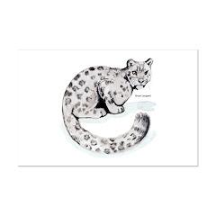 Snow Leopard Wild Cat Posters