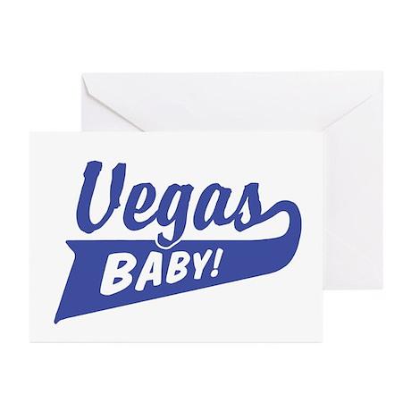 Vegas Baby Greeting Cards (Pk of 10)