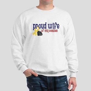 Proud Wife of my Seabee Sweatshirt