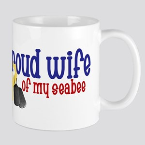 Proud Wife of my Seabee Mug