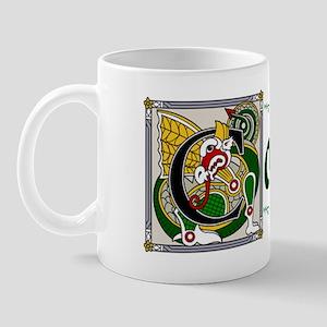 Collins Celtic Dragon Mug