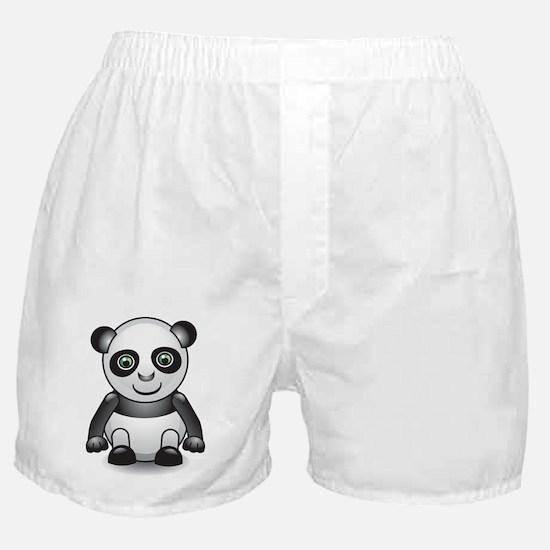 Cute 3D Panda Boxer Shorts