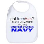Got Freedom? Navy (Mother) Bib