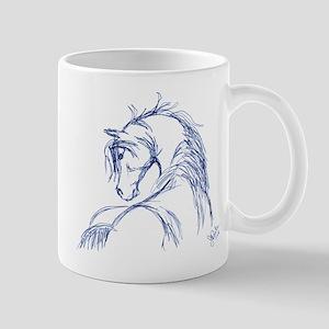Horse Head Sketch Mug