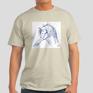 Horse Head Sketch Light T-Shirt