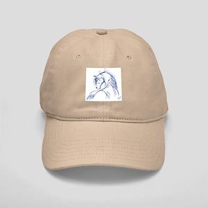 Horse Head Sketch Cap