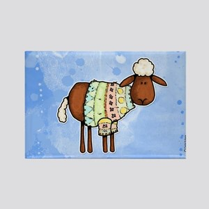 woolly sweater Rectangle Magnet