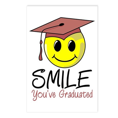 Smile You've Graduated Postcards (Package of 8)