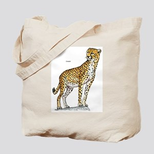 Cheetah Wild Cat Tote Bag